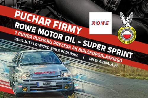 09-04-2017 Super Sprint - Puchar Firmy Rowe Motor Oil