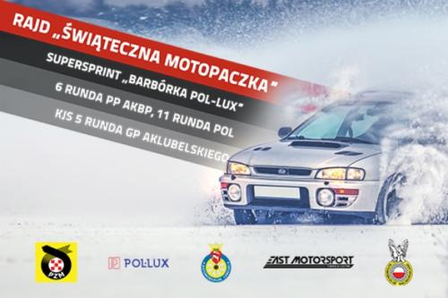 10-12-2017 Super Sprint - Rajd Barbórka Pol-Lux