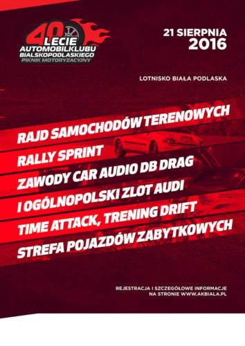 40-lecie Automobilklubu Bialskopodlaskiego
